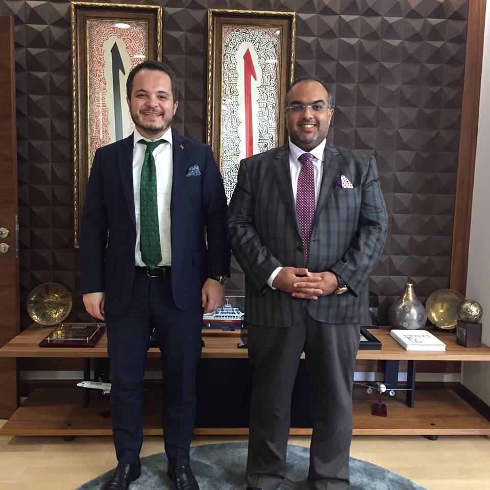 لقاء المدير العام برئيس هيئة الاستثمار التركية