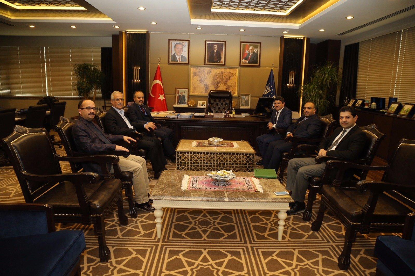 اجتماع المدير العام مع رئيس بلدية بورصة السيد علي نور أكتاش